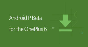 OnePlus 6 Android P