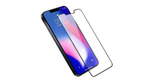 """Olixar render of """"iPhone SE 2"""" with screen protector 