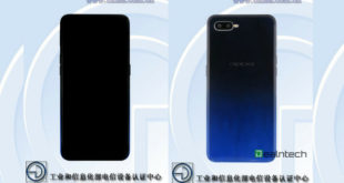 Alleged Oppo F9/ Tenaa