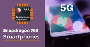 Snapdragon 765 and 765G phones