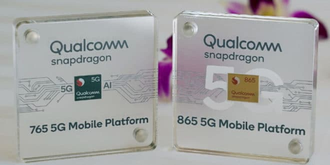 Snapdragon 865 vs 765 vs 765G