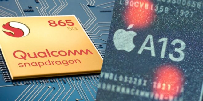 Snapdragon 865 vs Apple A13 Bionic