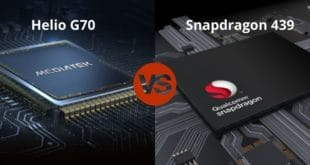Helio G70 vs Snapdragon 439
