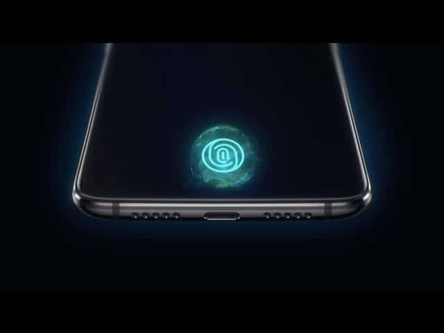 fingerprint scanner OxygenOS
