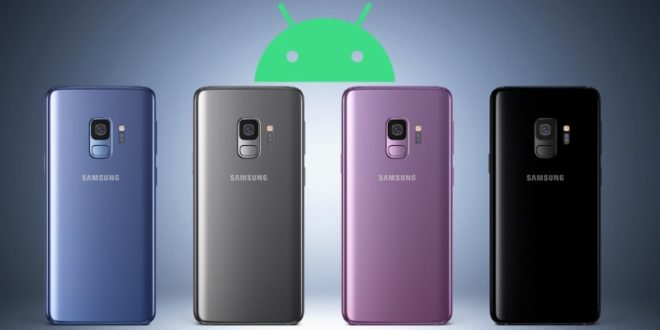 Samsung Galaxy S9, S9+ and Note 9