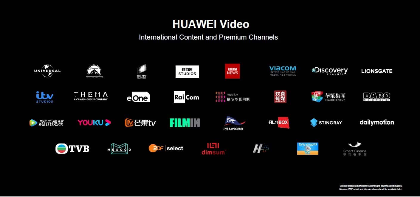 Huawei Music, News and Video