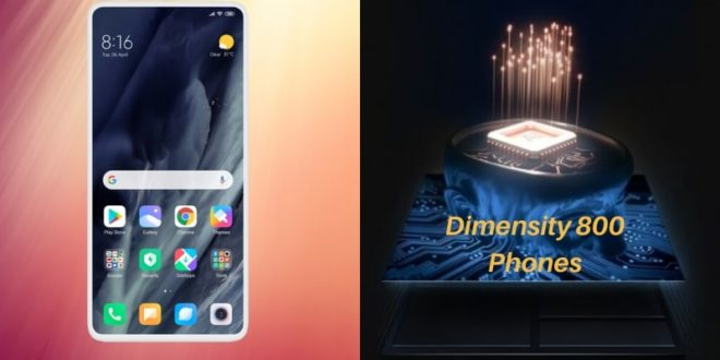 MediaTek Dimensity 800 Phones