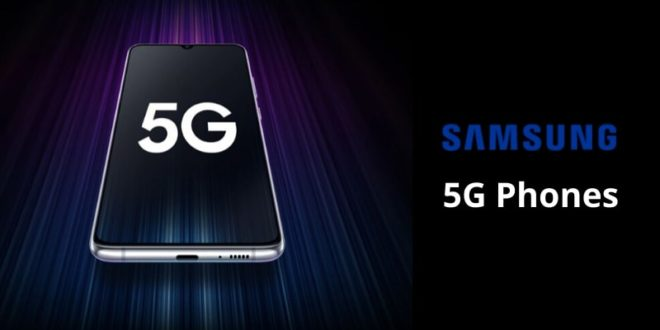 Samsung 5G phones