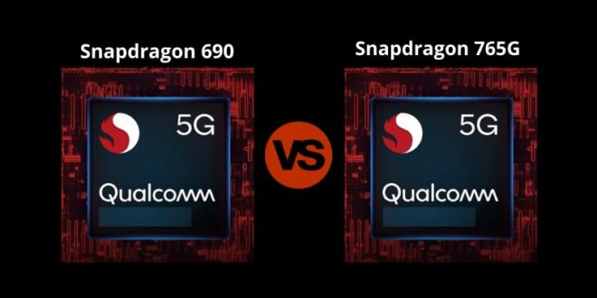 Snapdragon 690 vs Snapdragon 765G
