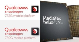 Helio G95 vs Snapdragon 732G vs Snapdragon 730G