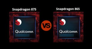 Snapdragon 875 vs 865