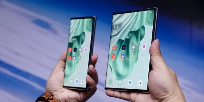 Oppo X 2021 Rollable Display Concept Smartphone