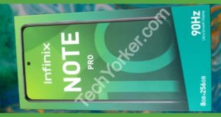 Inifinix Note 10 Pro box front