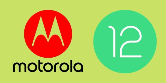 Motorola Android 12 Update
