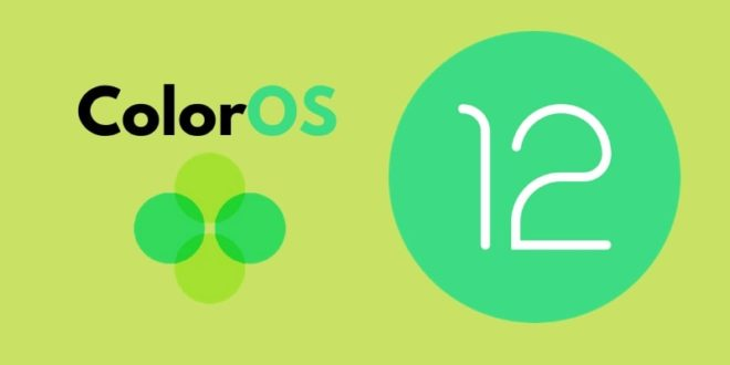 Oppo Android 12 ColorOS 12